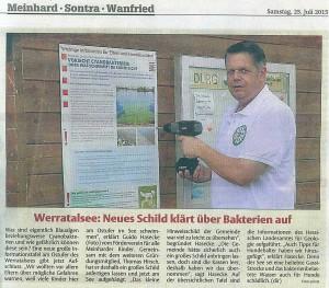 Werra Rundschau, 25.07.2015